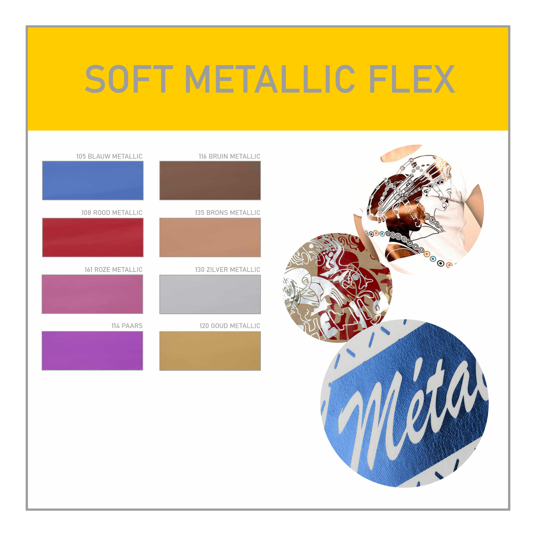 Soft Metallic Flex
